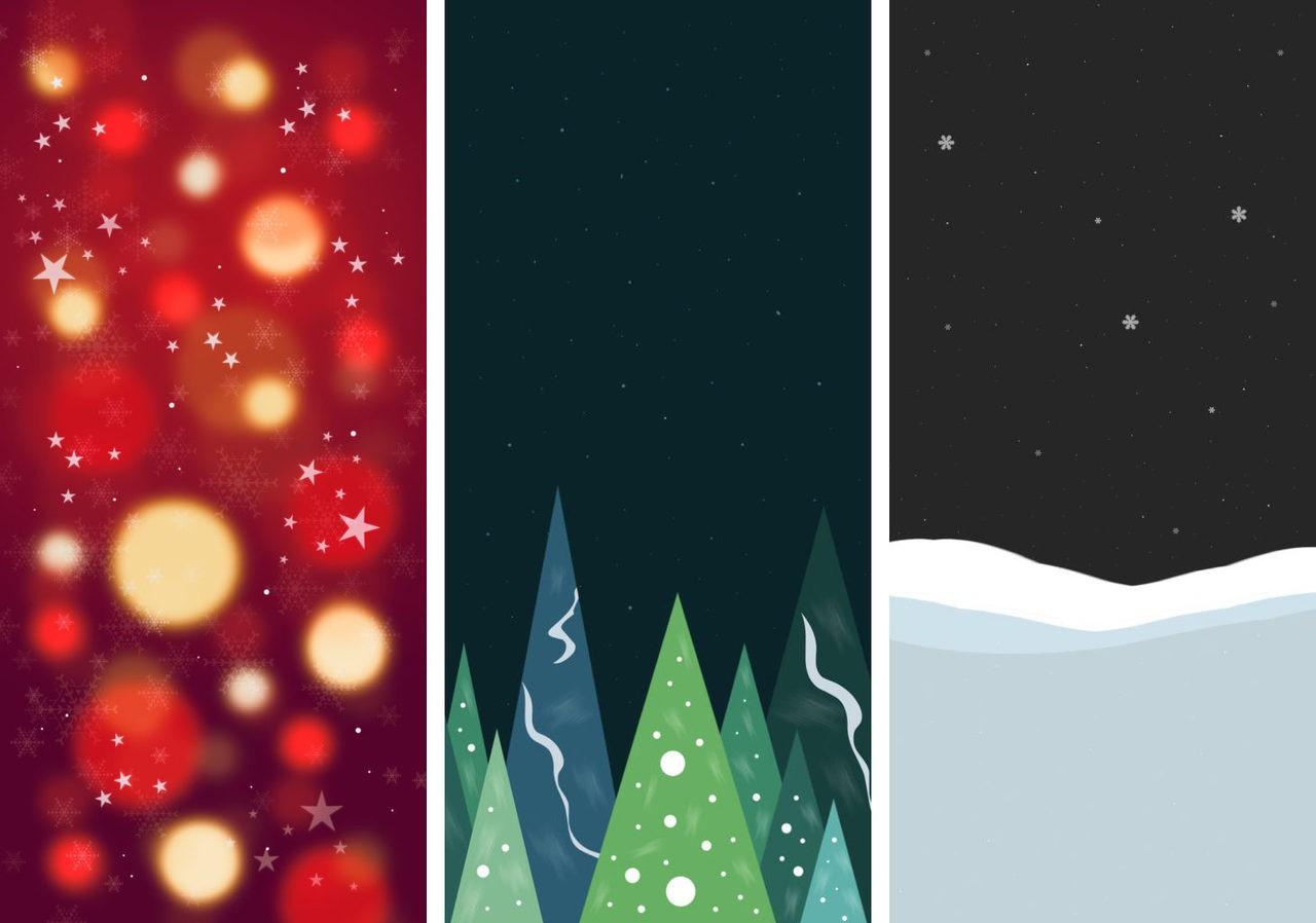 Iphone Xでも利用できる クリスマス壁紙コレクション ソフトアンテナブログ