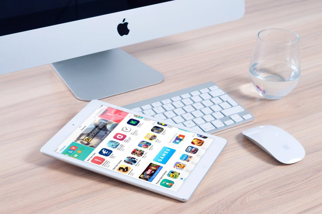 Imac apple mockup app 38544