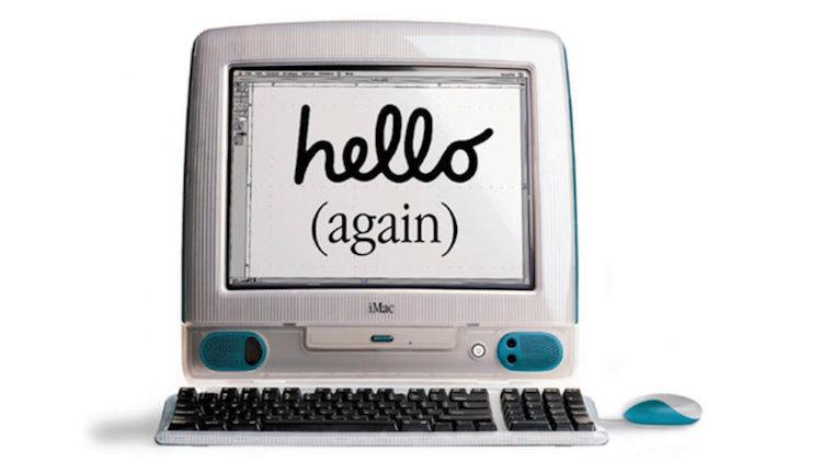 Hello again imac