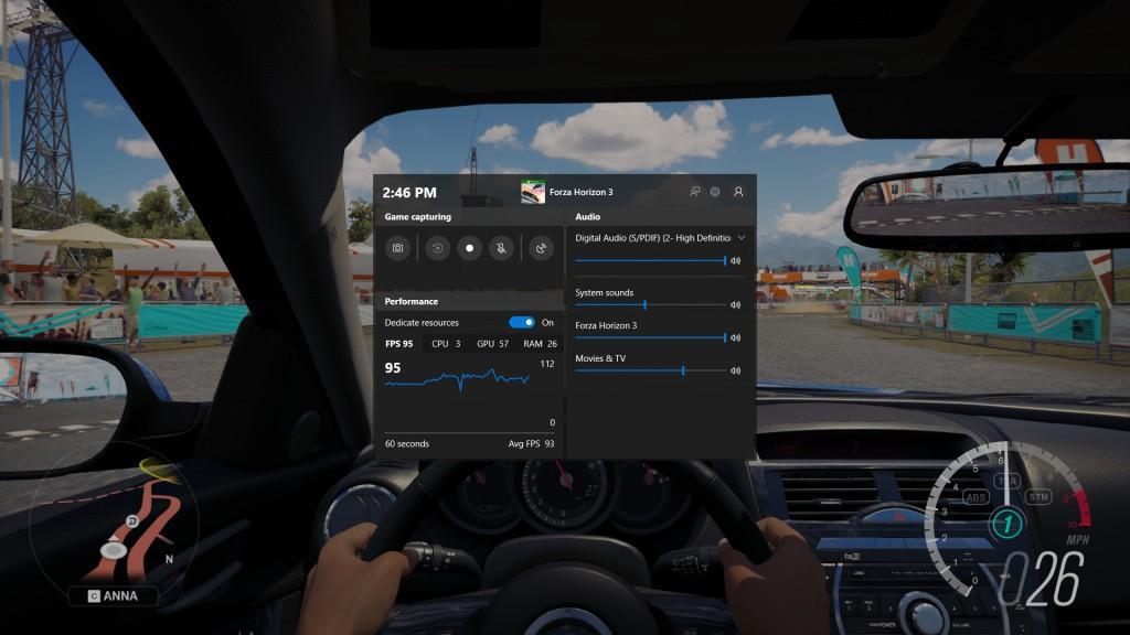 Gamebar