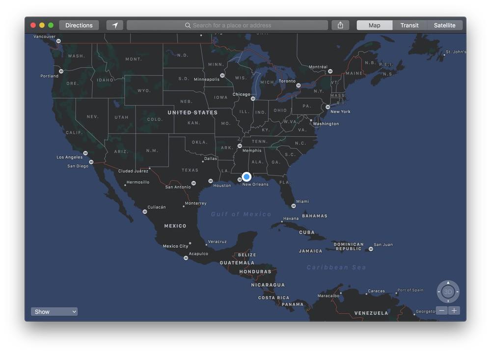 Maps mojave beta 2