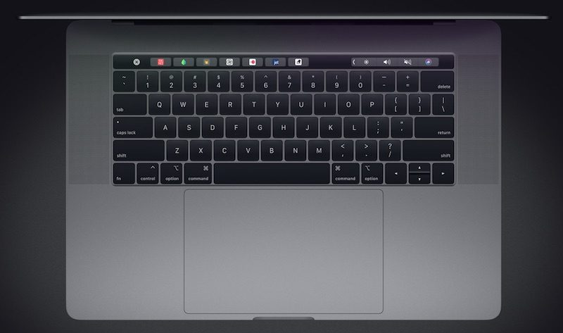 Macbook pro keyboard 2018 800x473