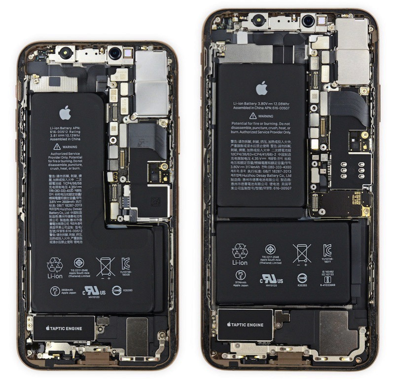 Ifixit teardown iphone xs iphone xs max
