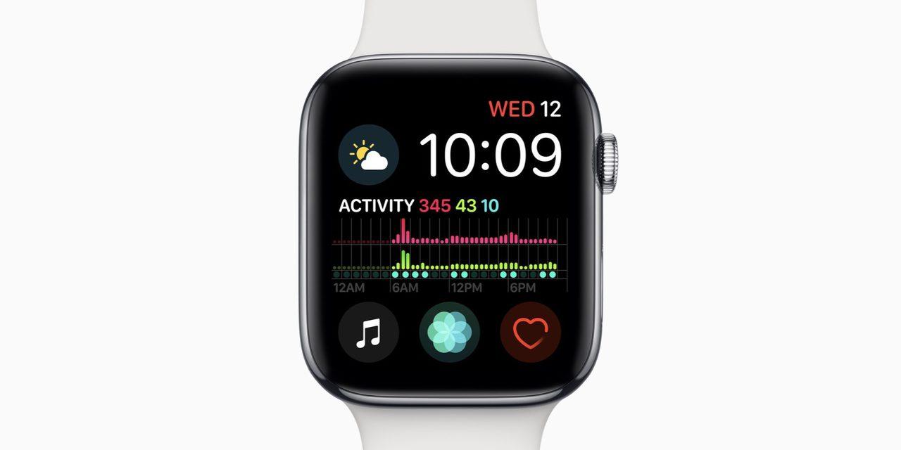 Apple watch series 4 crash