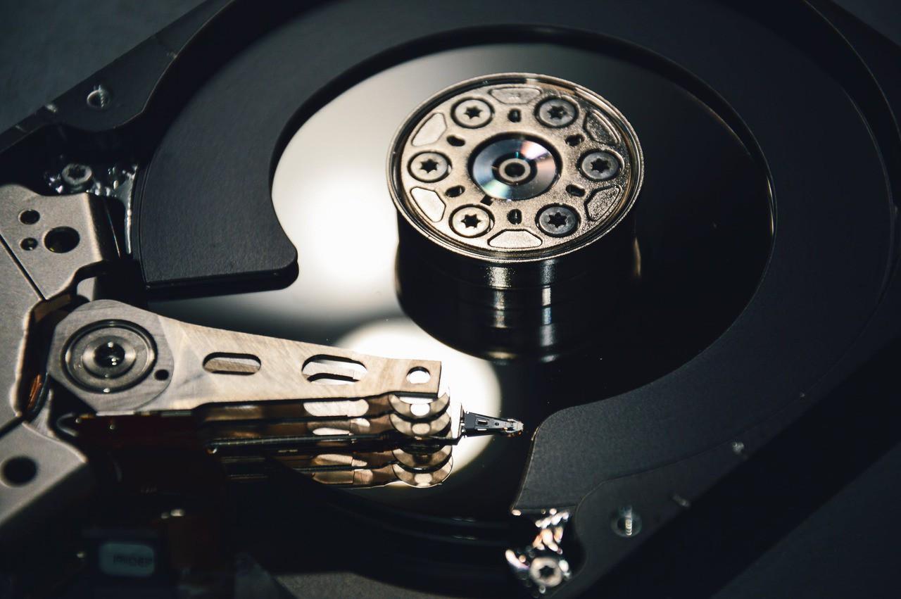 Night computer hdd hard drive