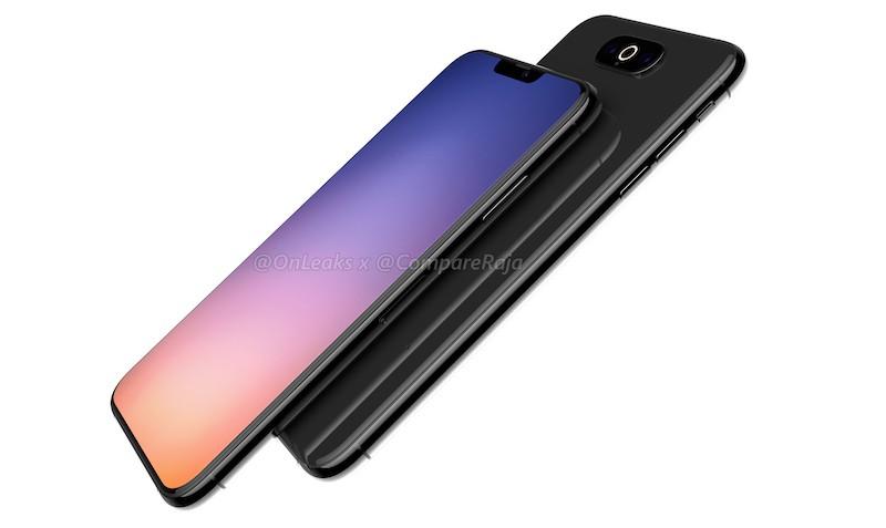 Iphone 2019 triple side render