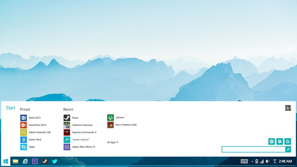 Windows lite concept