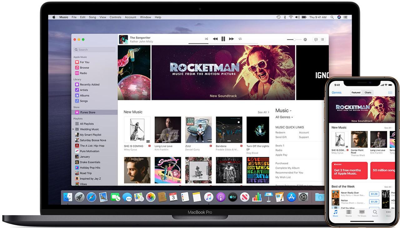 Macos catalina apple music itunes store