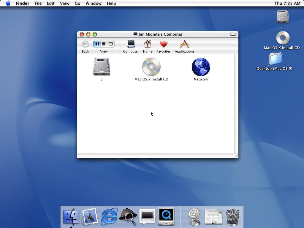 Mac os x^2001^10 0 cheetah desktop1