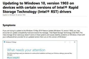 Windows 10 Version 1803の累積アップデートKB4480966でさまざまな不具合