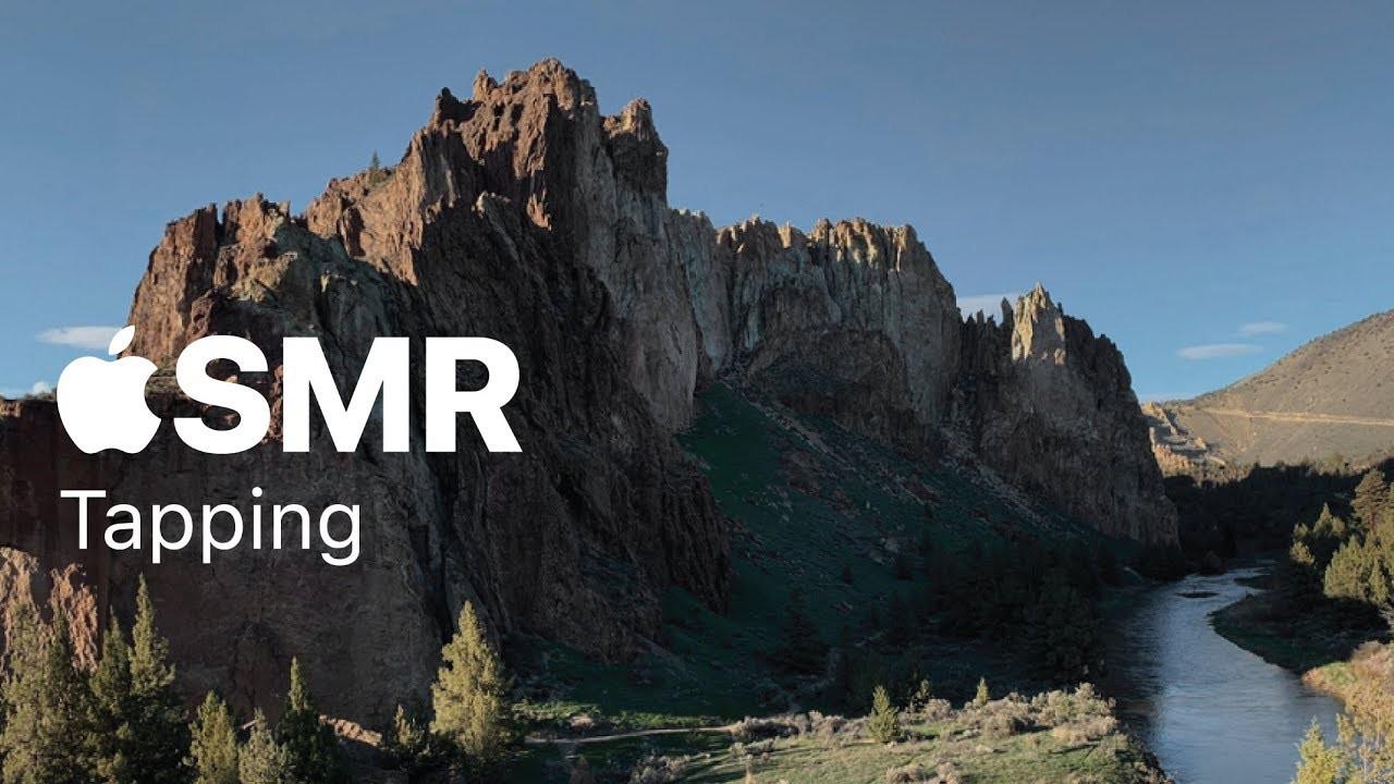 Apple ASMR videos