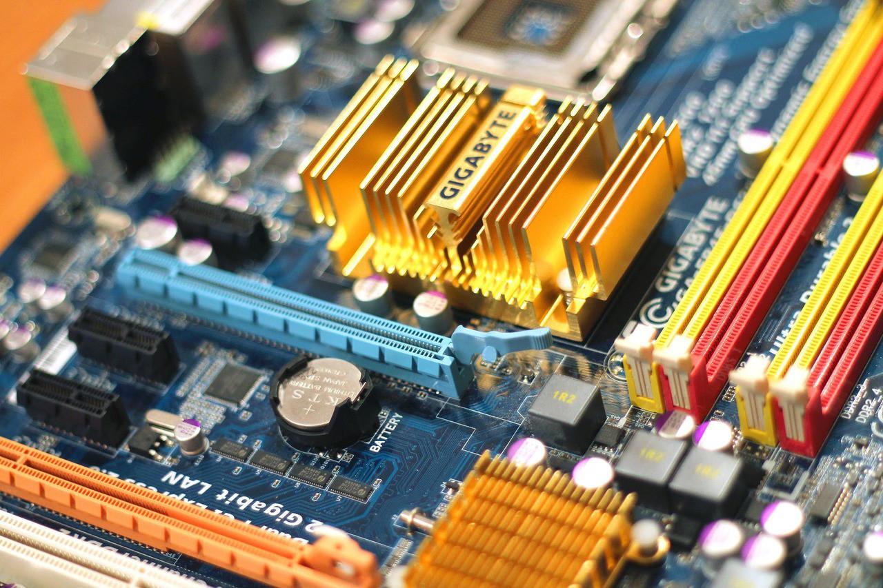 Technology computer chips gigabyte