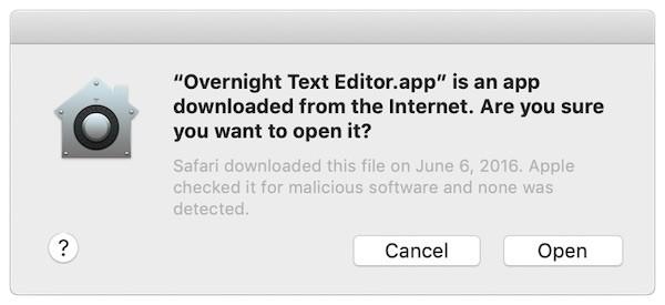 Apple mac notarized