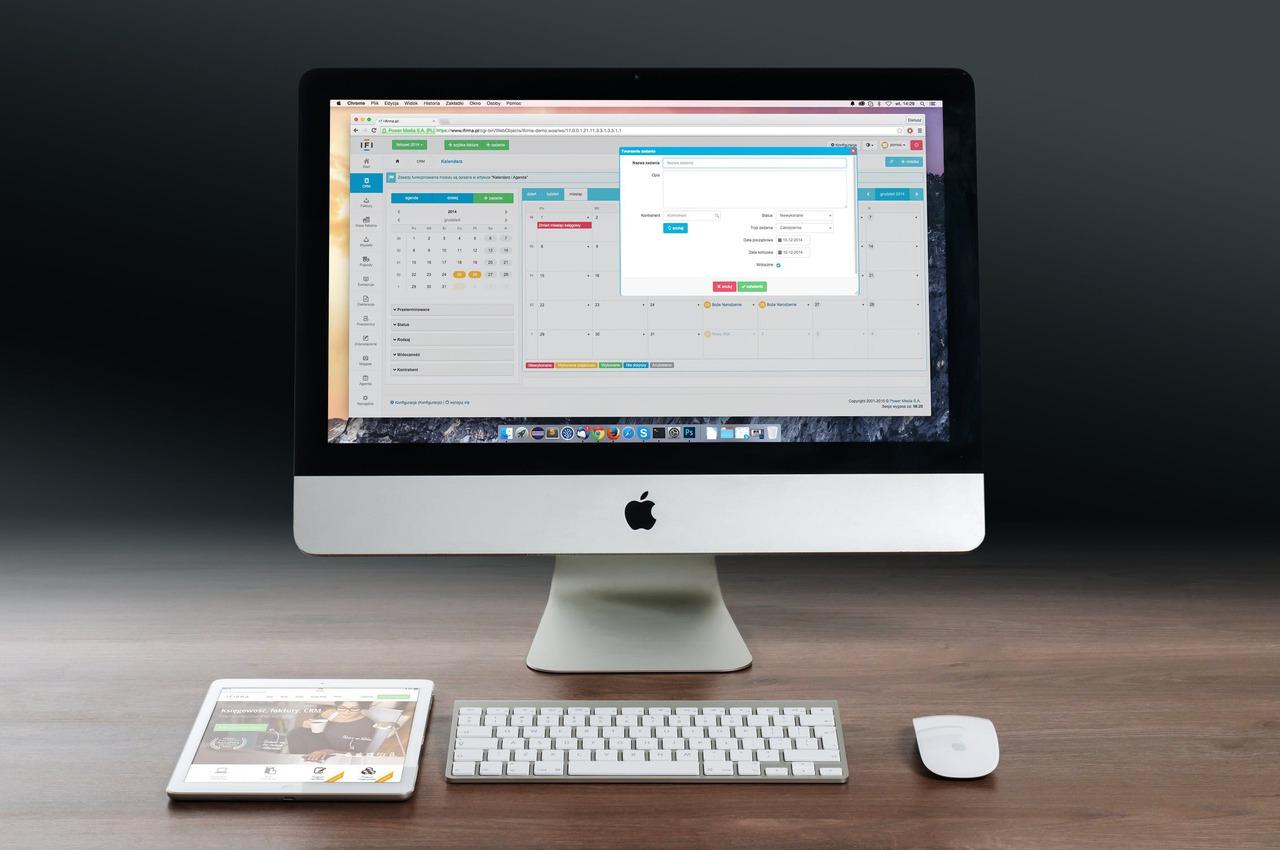 Apple imac ipad workplace 38568