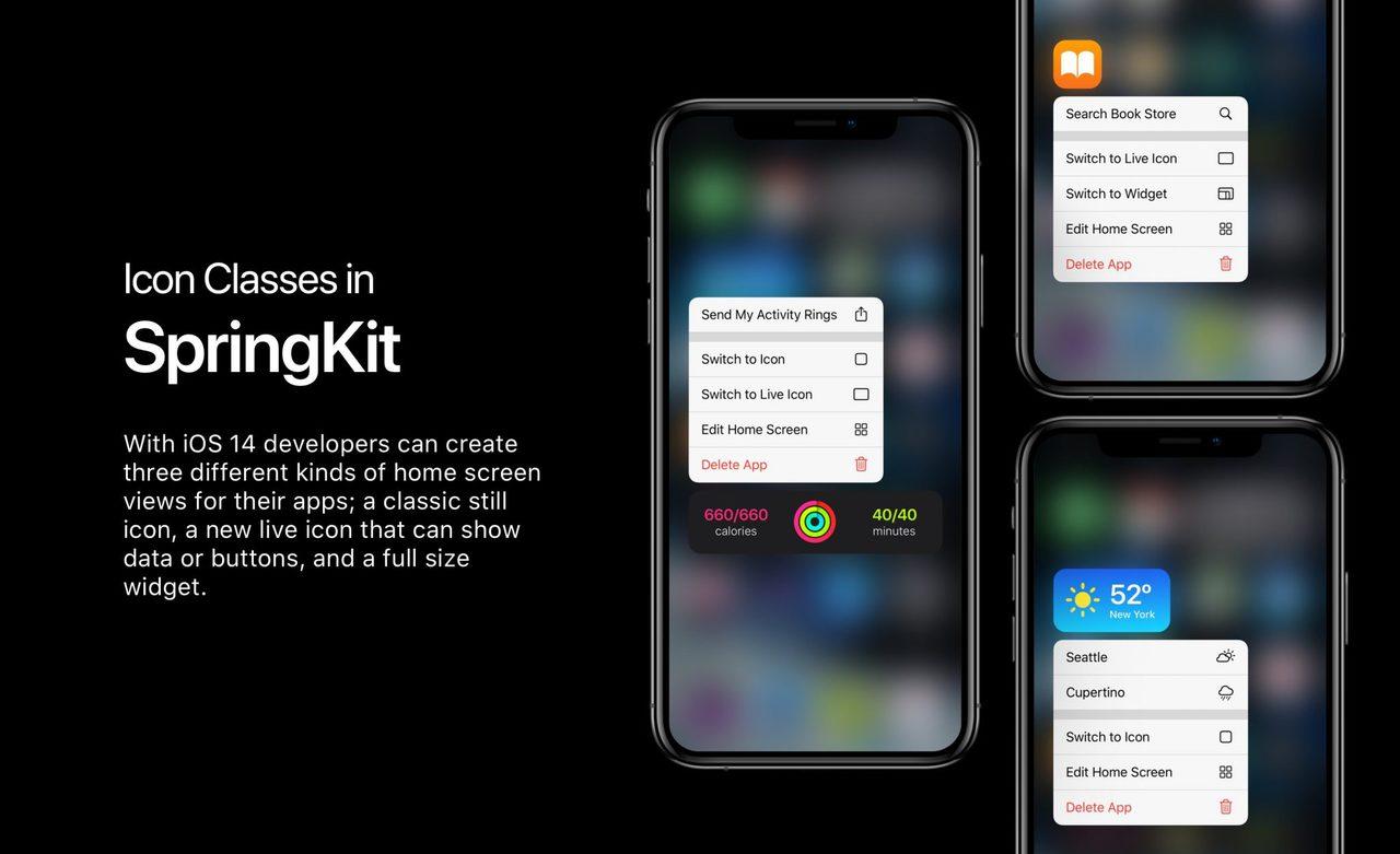 IOS 14 home screen widgets Parker Ortolani concept 002 2048x1249