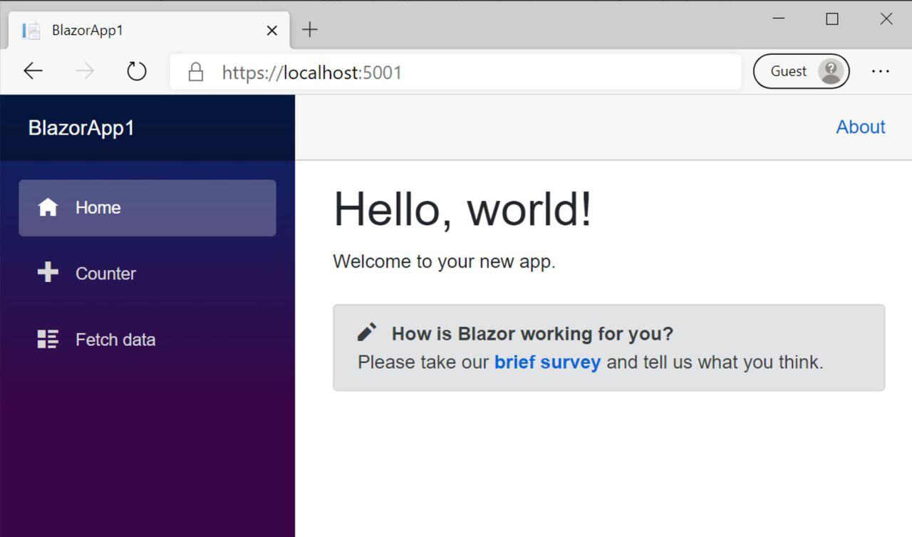 Microsoft Blazor WebAssemby Silverlight