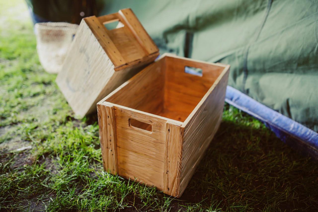 Wood wooden decoration box 5879