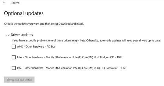 02 optional updates