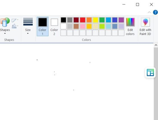 Floating web widget 555x420