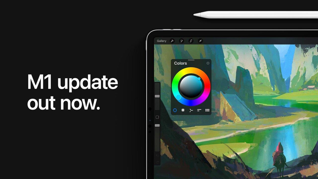 Procreate iPad Pro M1