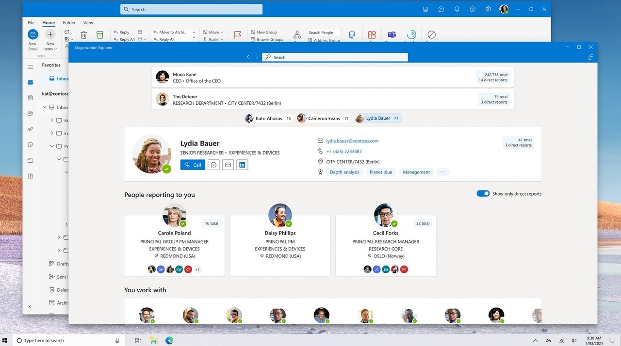 Outlook for Windows 10