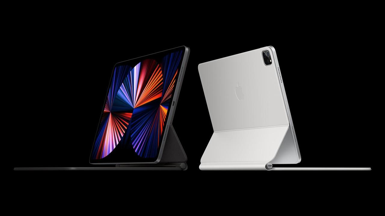 Apple ipad pro spring21 ipad pro magic keyboard 2up 04202021