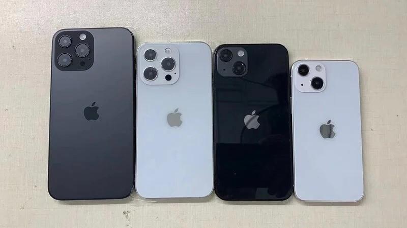 Iphone 13 lineup dummy models