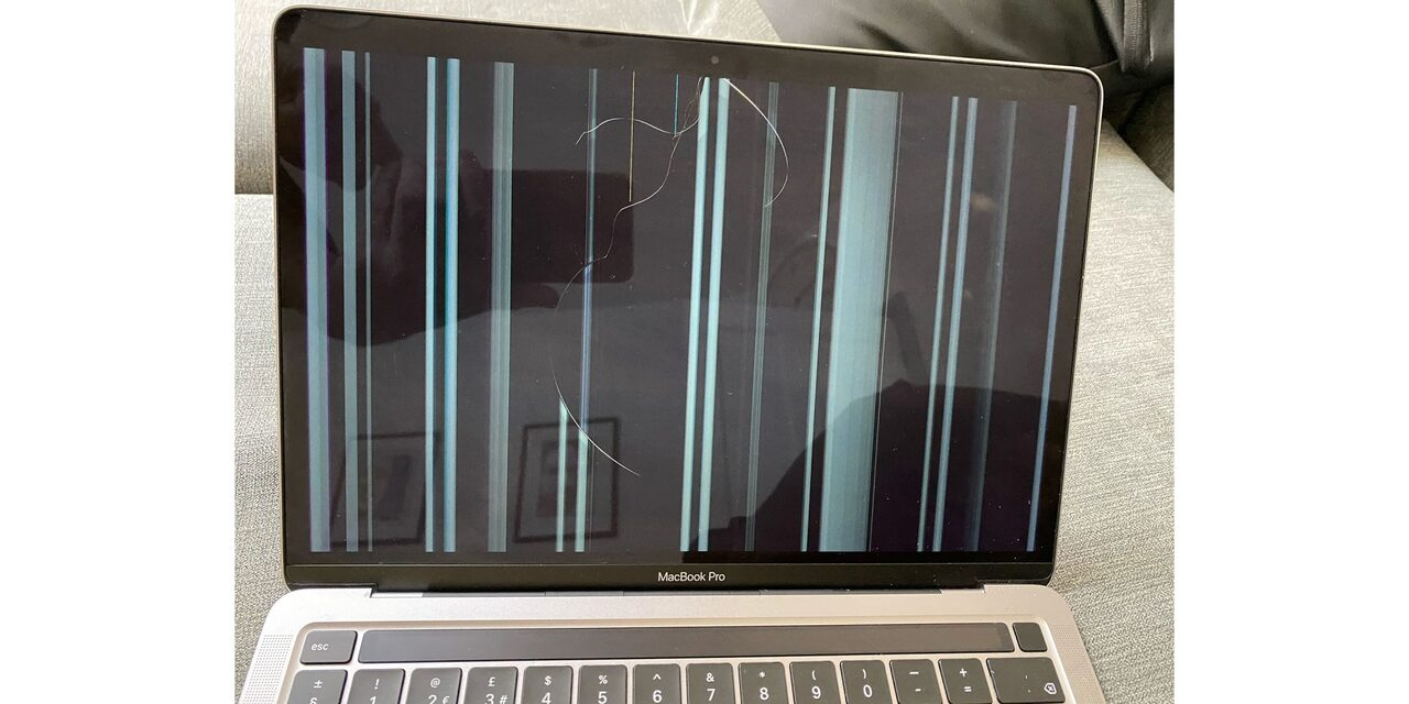 M1 MacBook screen cracks
