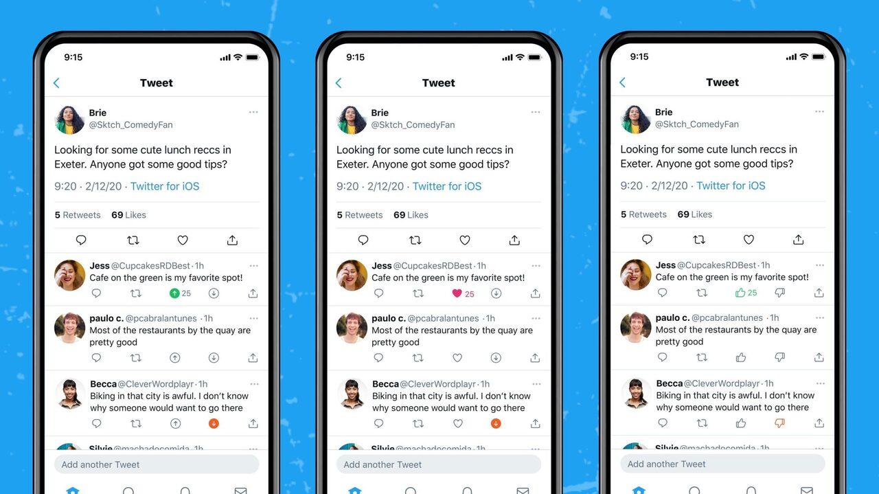Twitter dislike