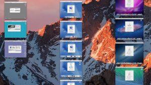壮観!エミュレーターで歴代Mac OSの起動に成功した画像 - System 2からYosemiteまで